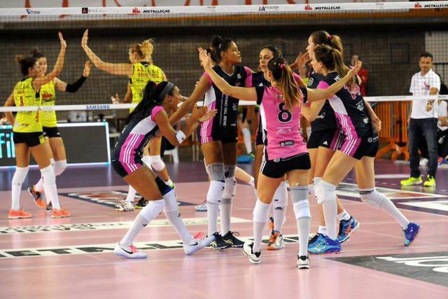 La Savino Del Bene Volley a Monza per vincere!