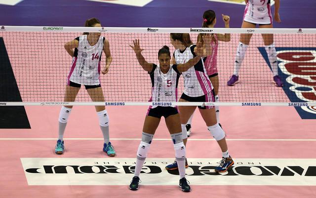 La Savino batte le campionesse d'Italia a Conegliano