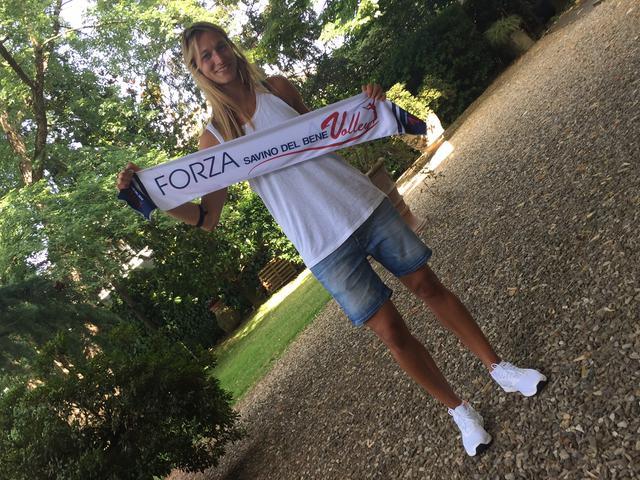 Una campionessa in posto 3: Valentina Arrighetti