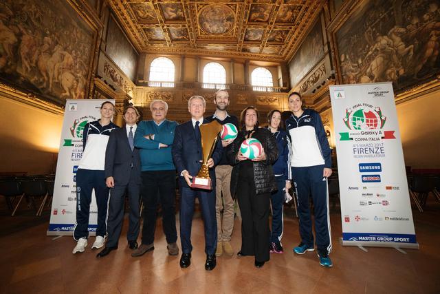 Final Four Samsung Galaxy A Coppa Italia: presentato a Palazzo Vecchio l'evento del 4-5 marzo