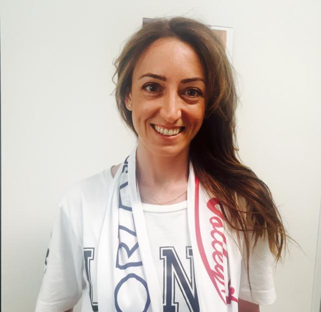 """Chiara Di Iulio: """"Diventerò mamma e per questo motivo dovrò sospendere l'attività agonistica con La Savino Del Bene volley"""""""