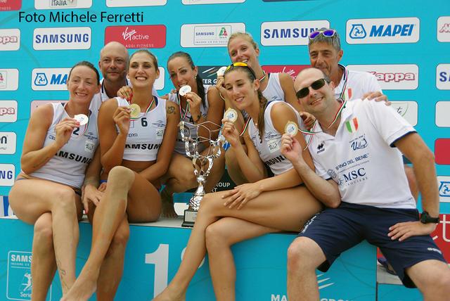 Il cielo è azzurro sopra Pesaro: la Savino Del Bene vince la Coppa Italia!!!
