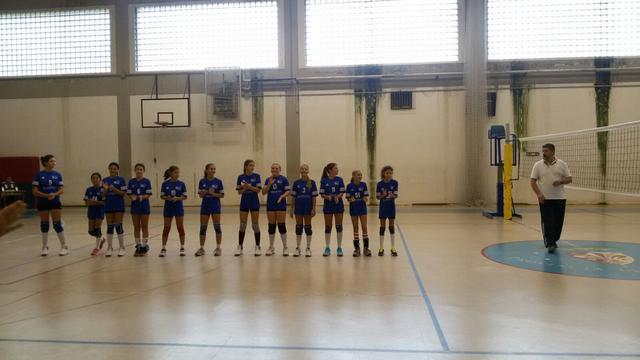 La sconfitta dell'Under 12 senior non preoccupa, forza ragazze!