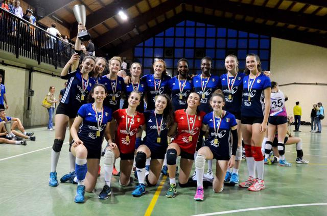 Under 16: Il Volleyrò Casal de' Pazzi si è confermato campione regionale