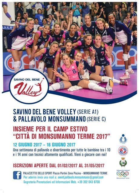 """Camp """"Città di Monsummano Terme"""" con tre atlete della Serie A1"""