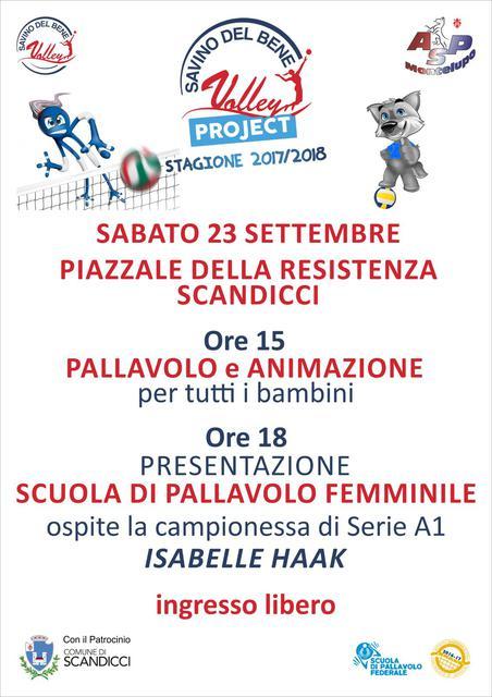 Sabato 23 settembre – Pallavolo e giochi in Piazza Resistenza