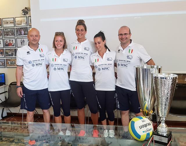 Si alza il sipario sul sand volley 4×4 della Savino Del Bene Volley!