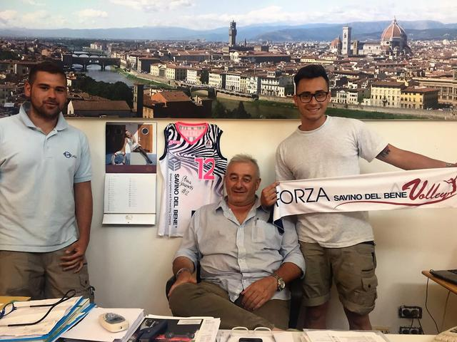 """Maurizio Belli titolare di Olmo Casa: """"Mi sono innamorato della pallavolo"""""""