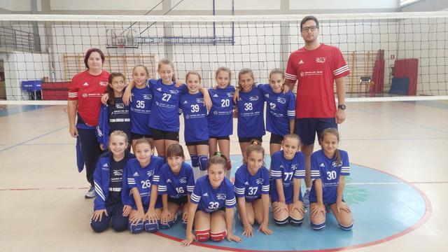 Vittoria in scioltezza per le ragazze dell'U12 Junior