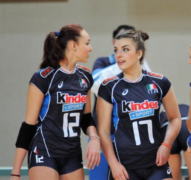 La Nazionale Under18 vince all'esordio, convincono le quattro azzurrine del Volleyrò!
