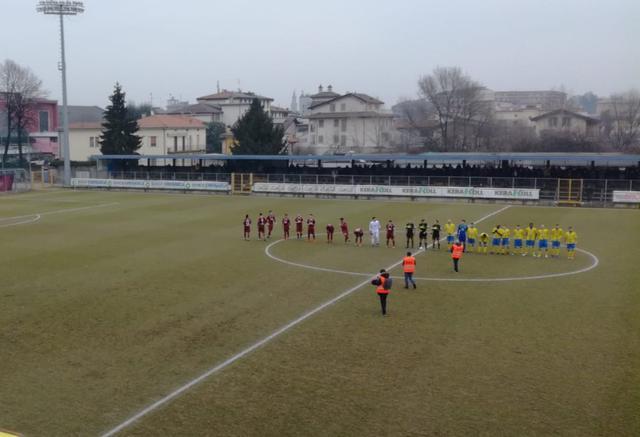 """L'ultima sfida tra Reggiana e Pergolettese al """"Voltini"""""""