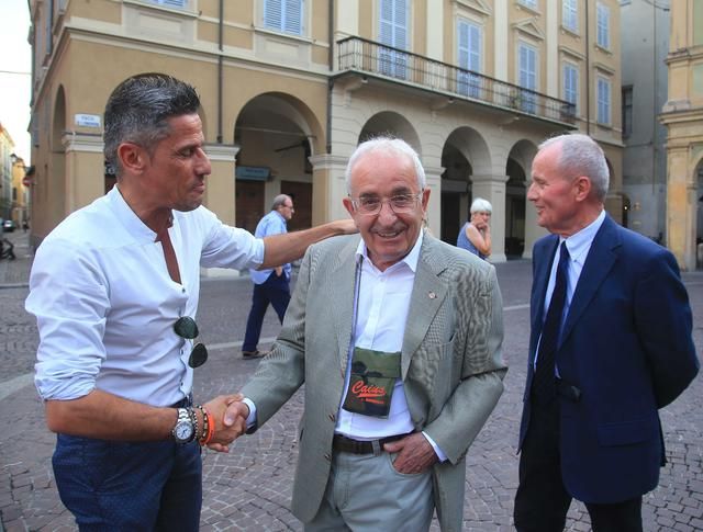 Quintavalli, Amadei e Tosi © Reggio Audace FC