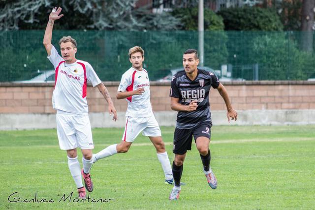 Un'immagine della partita di Coppa disputata al Mirabello il 1° settembre scorso