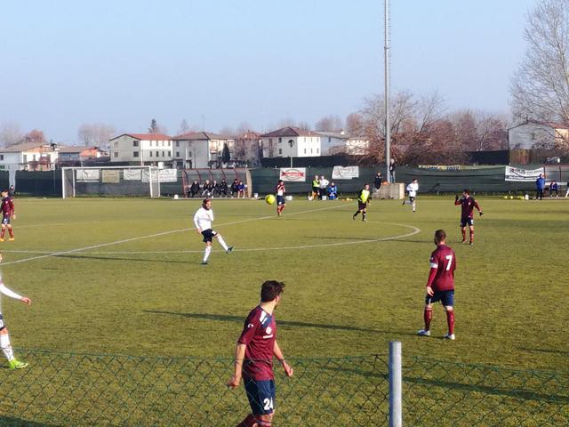 Il campo di Calerno aveva già ospitato l'AC Reggiana nella scorsa stagione