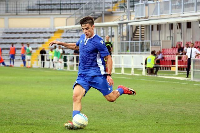 Giulio Favale in azione contro la Juve Under 23 © Reggio Audace FC