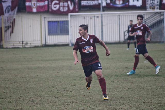 Alessandro Spanò in azione a Pavia © Reggio Audace FC
