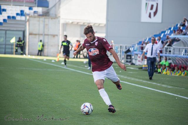 """Zamparo in azione al """"Città del Tricolore"""" © Reggio Audace FC"""