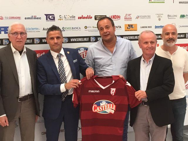 Da sinistra: Carretti, Quintavalli, Tarabelloni, Tosi e Fico