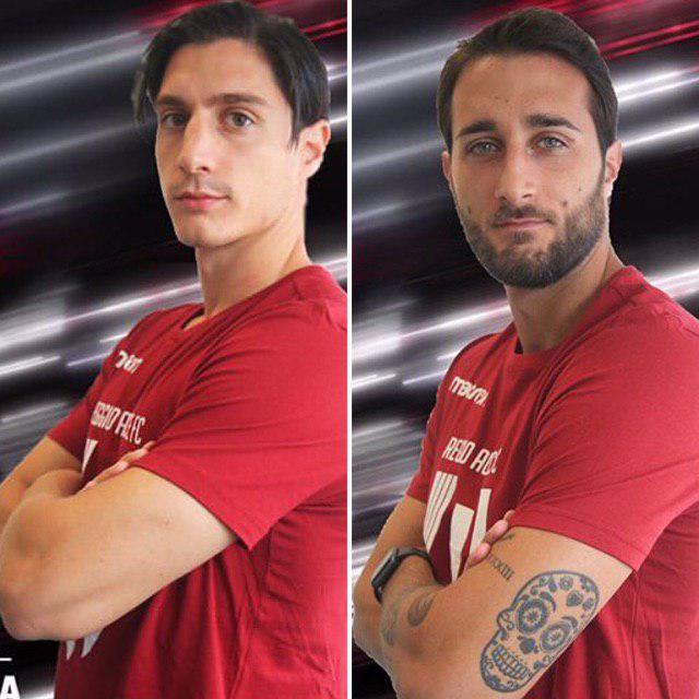 Spanò e Rozzio © Reggio Audace FC