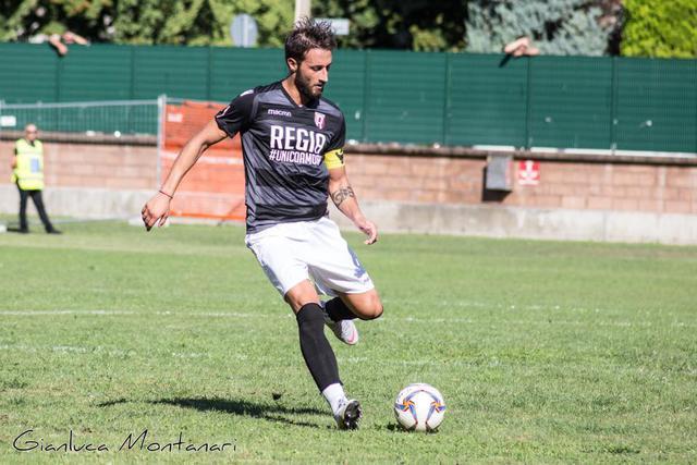 Paolo Rozzio in azione al Mirabello © Gianluca Montanari (Reggio Audace FC)
