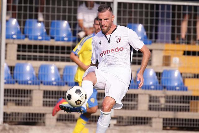 Il bomber Scappini tornerà a segnare domenica a Fermo?