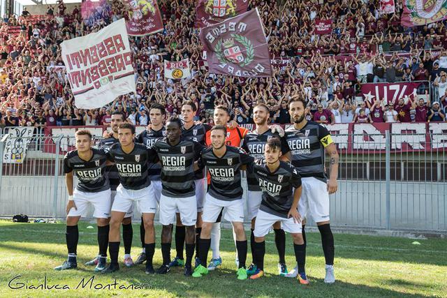 L'undici iniziale schierato contro il Sasso Marconi © Reggio Audace FC