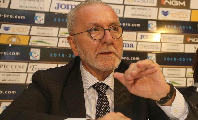 Francesco Ghirelli, presidente della Lega Pro