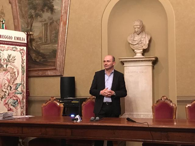 Il sindaco Luca Vecchi © TuttoReggiana
