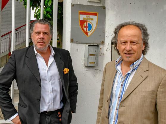 Victor Pablo Dana con Federico Strafinger