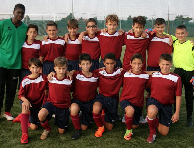 La formazione Under 13 protagonista a Cesena ©Reggio Audace FC