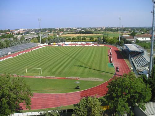 """Lo stadio """"Enrico Nanni"""" di Bellaria Igea Marina"""