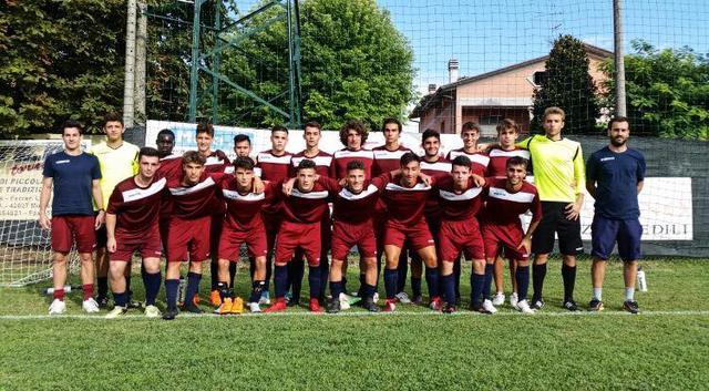 Gli Juniores Nazionali di mister Bertacchi © Reggio Audace FC