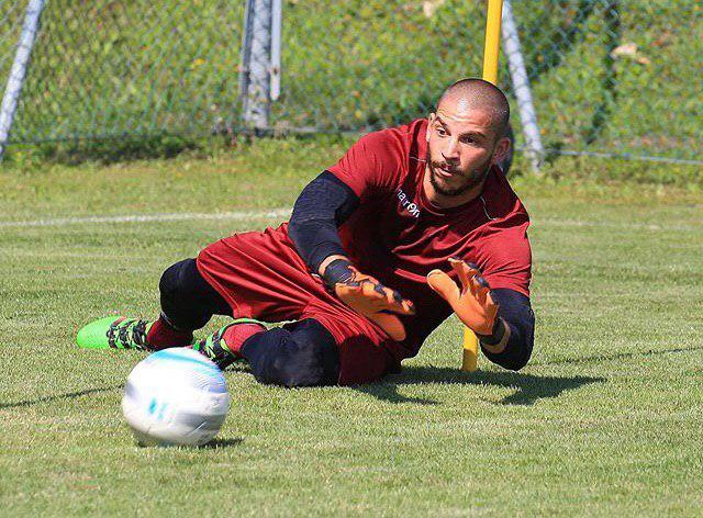 Venturi in azione a Carpineti © Reggio Audace FC