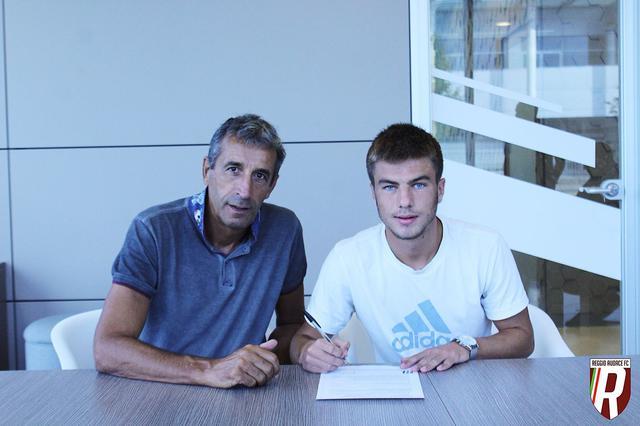 Il coordinatore tecnico Lancetti con Gabriele Masini