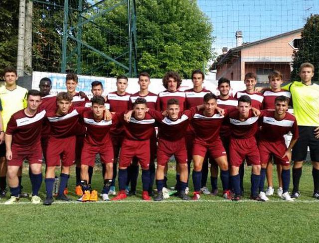La formazione Juniores scesa in campo contro il Cesena