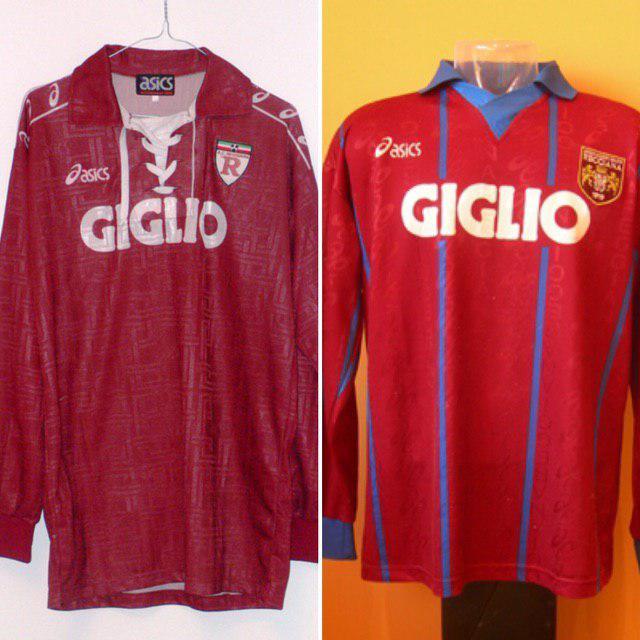 Le divise granata indossate in Serie A