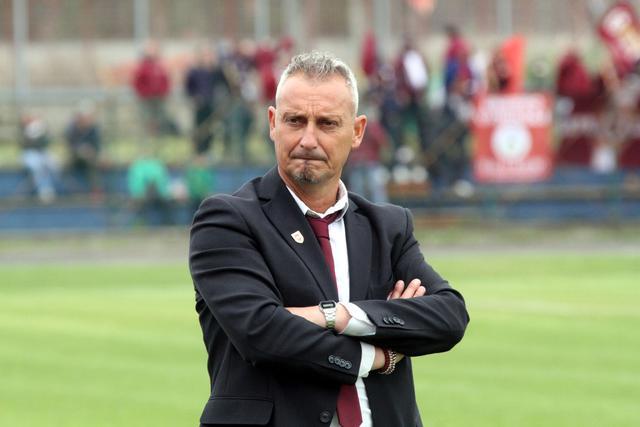 La delusione dipinta sul volto di Mauro Antonioli © Reggio Audace FC