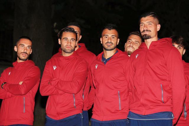 Da sinistra: Radrezza, Rossi, Staiti e Varone ©Reggio Audace FC