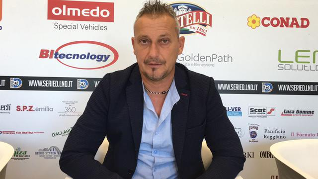 Mauro Antonioli, lo scorso anno alla guida della Reggio Audace