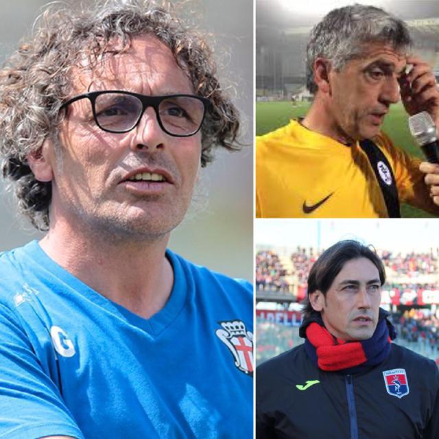 Vito Grieco, Massimo Gadda e Luigi Panarelli