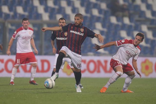 Marcos Espeche in azione contro il Carpi © Reggio Audace FC