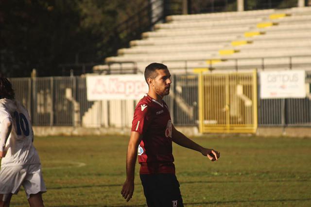 Antonio Broso in azione a Pavia ©Reggio Audace FC