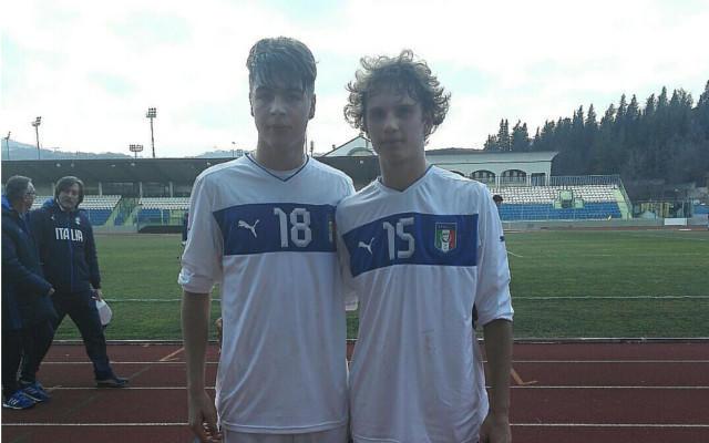 Cristian Cassano (a sinistra) con Federico Mori
