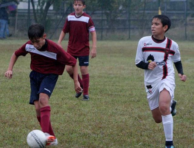 Uno scatto dal match vinto dagli Under 13 contro il Pro Piacenza © Reggio Audace FC