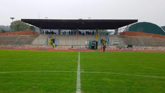 """Lo stadio """"Carbonchi"""" di Sasso Marconi"""