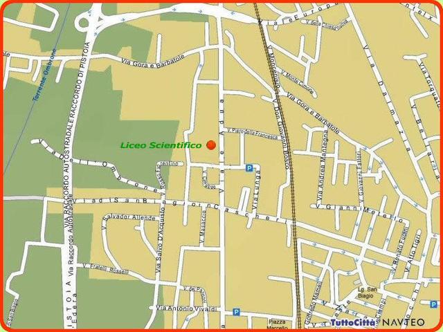 Palestra Liceo Scientifico Viale Adua, 187 Pistoia