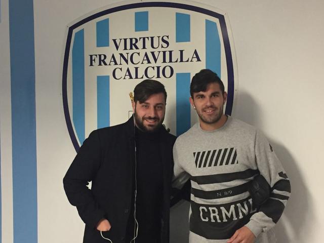 Lugo Martinez con l'agente Valeriano Narcisi