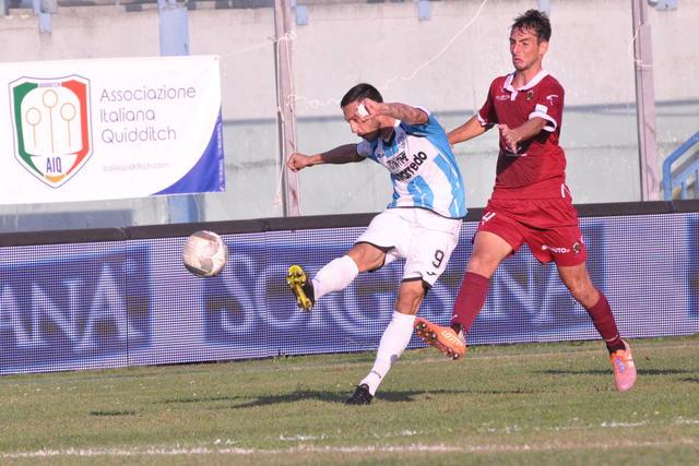ANDREA SARANITI Autore del momentaneo 1-0 - foto Gianni Di Campi