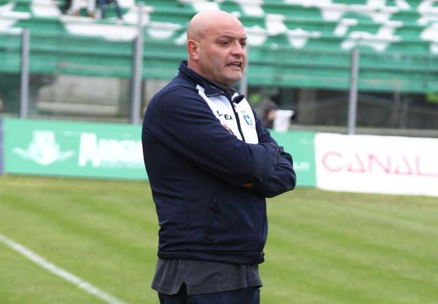 Fabio De Sanzo, allenatore della Paganese - Foto Studio Renato Ingenito