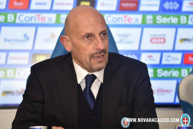 Mimmo Di Carlo, allenatore del Novara
